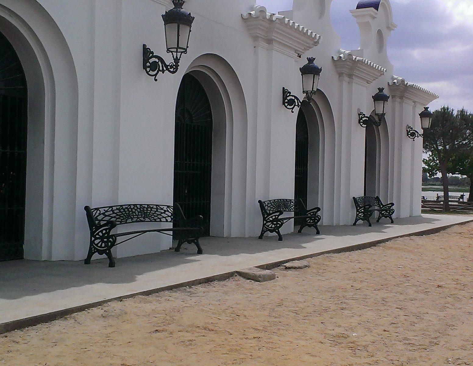 Kapel in El Rocio